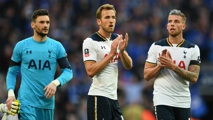 Hugo Lloris Harry Kane Toby Alderweireld Tottenham