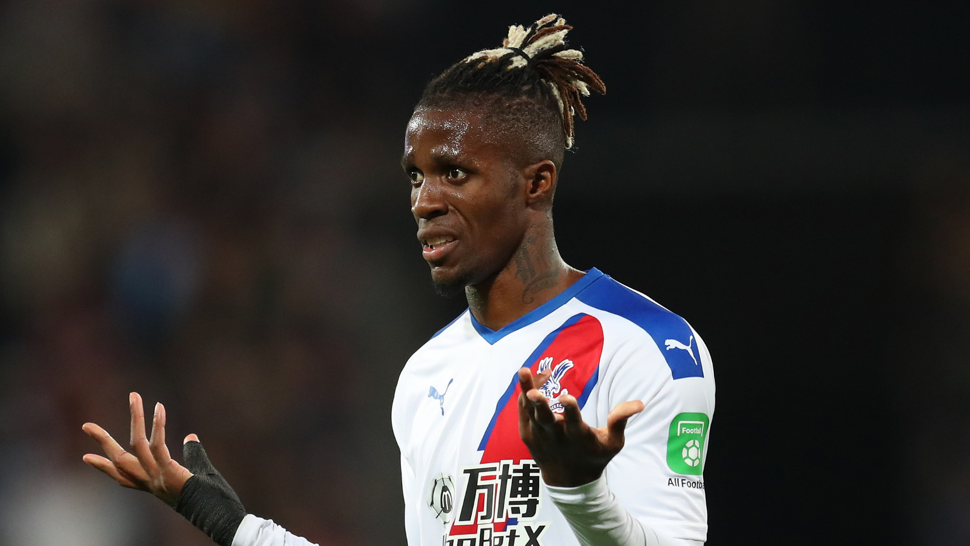Wilfried Zaha, Crystal Palace away 2019-20