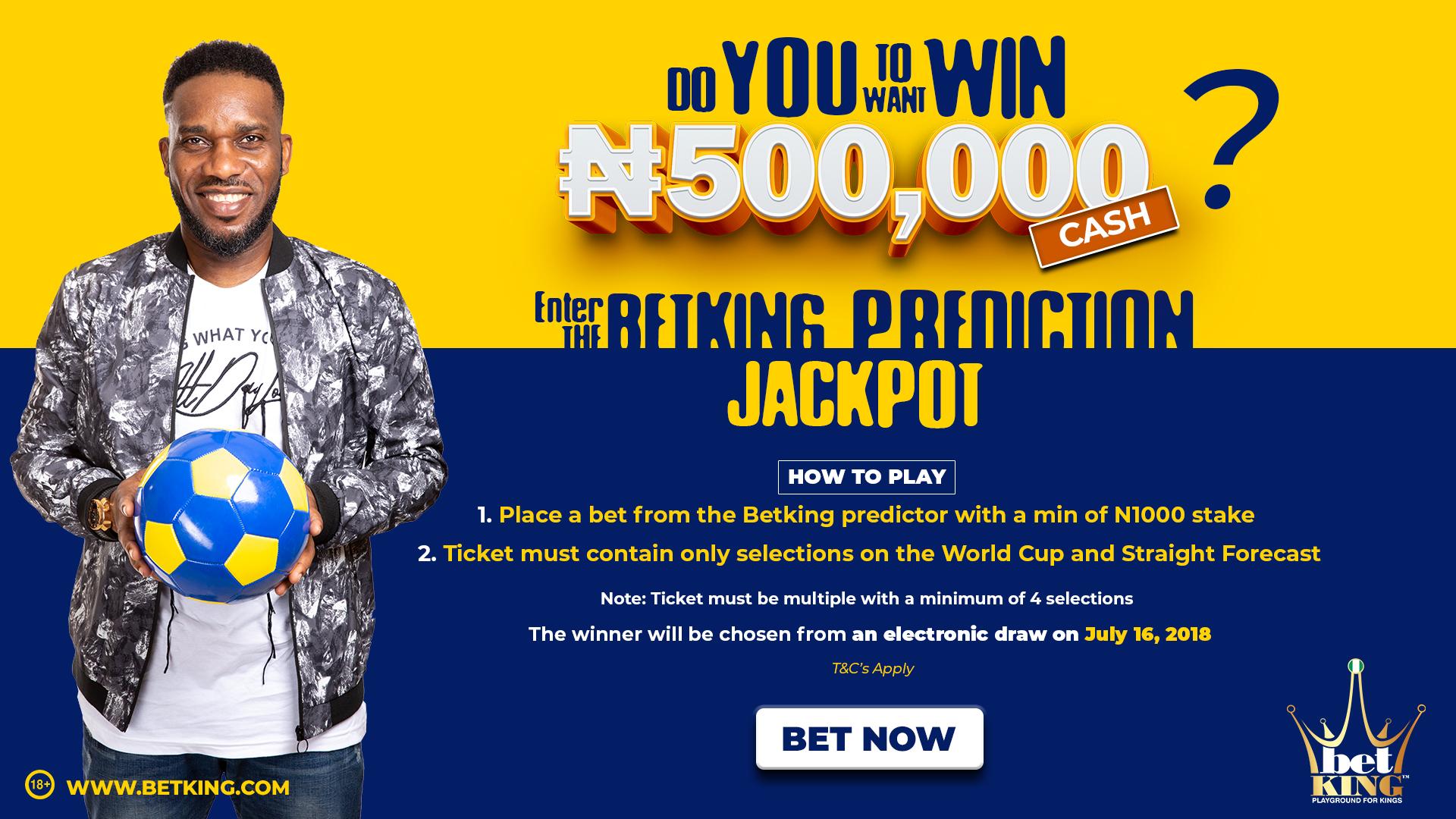 N500,000 BetKing Prediction Jackpot: Can Croatia reach their first
