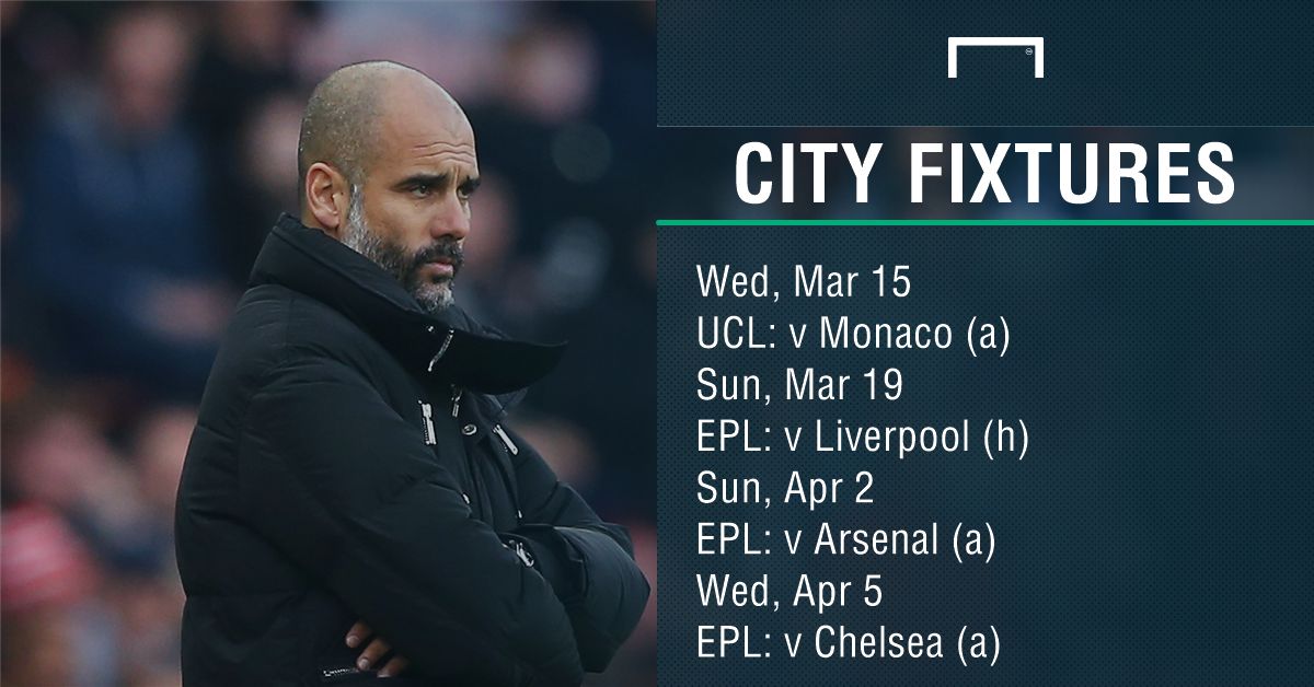 Man City fixtures PS
