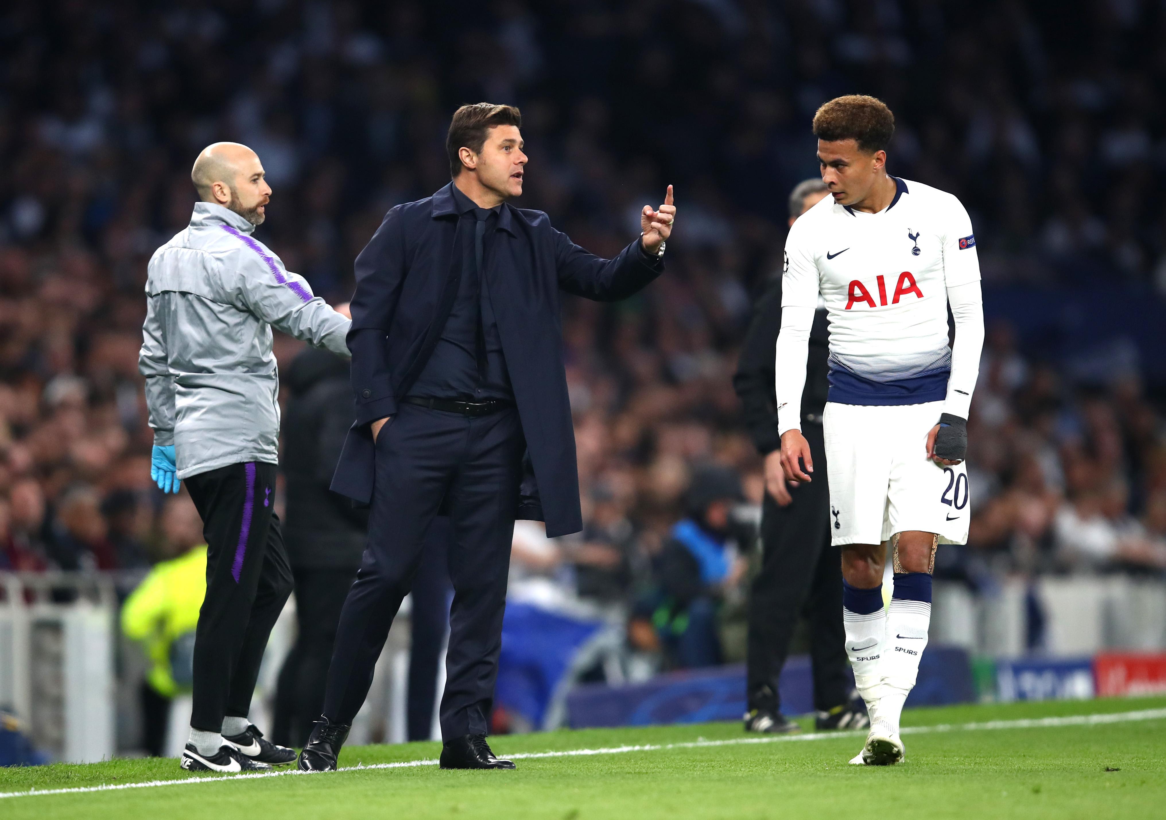 Mauricio Pochettino Dele Alli Tottenham Hotspur