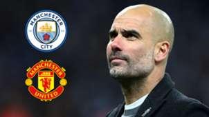Pep Guardiola Manchester derby