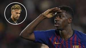 Ousmane Dembele Neymar Barcelona PSG 2018