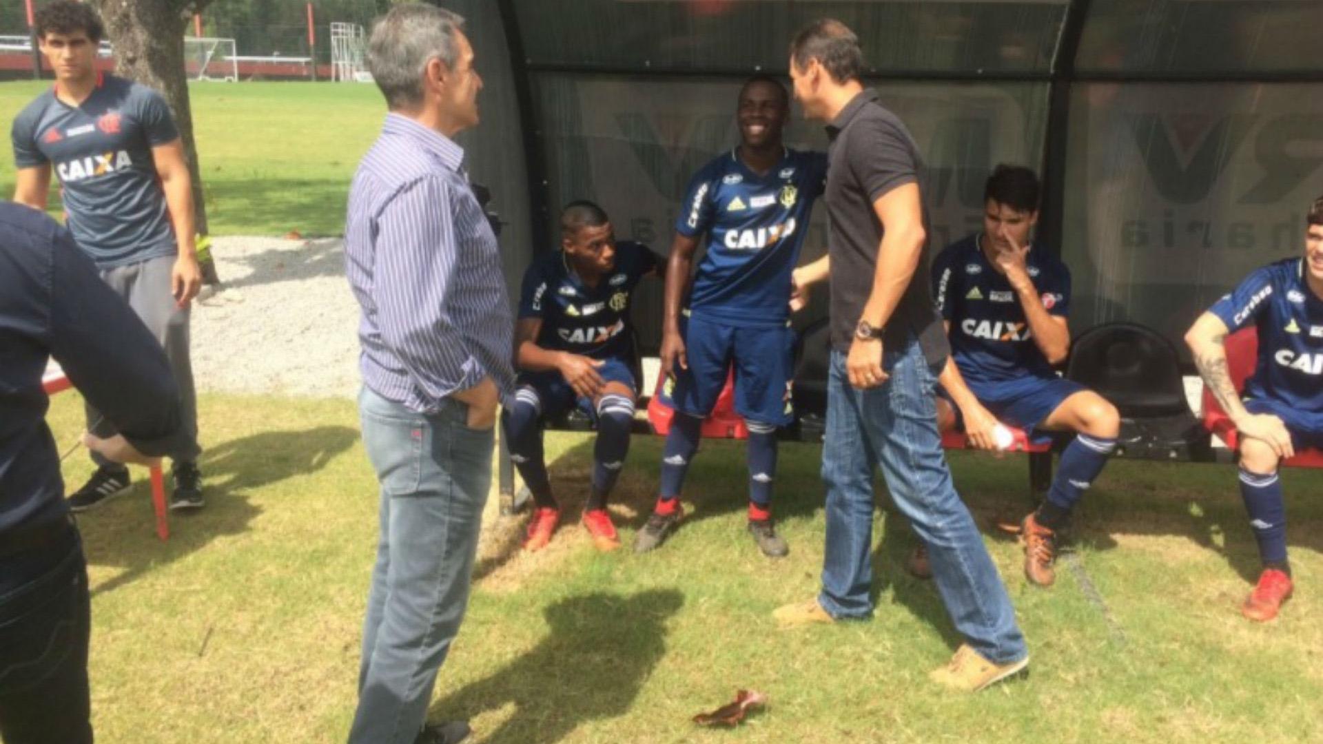 Paulo Cesar Carpegiani Flamengo 09 01 17