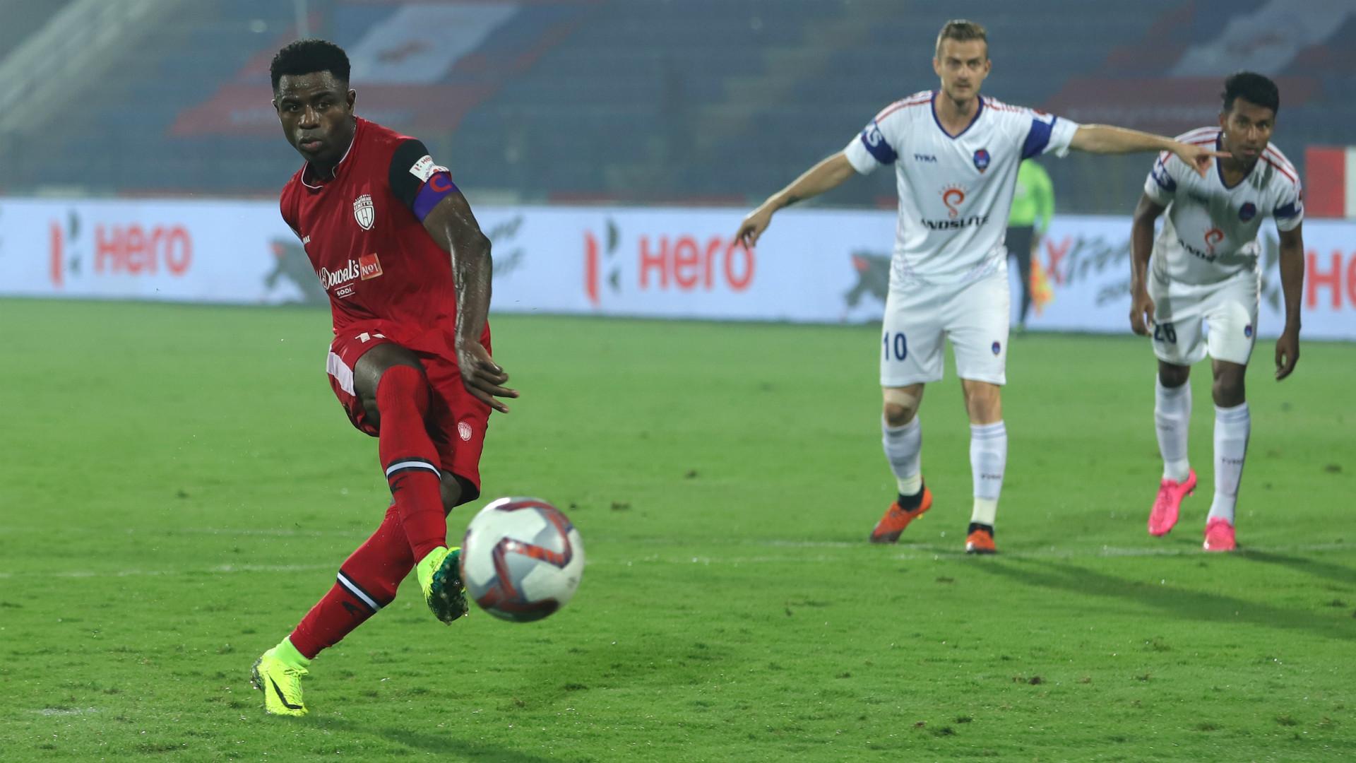 Bartholomew Ogbeche NorthEast United Delhi Dynamos ISL 5