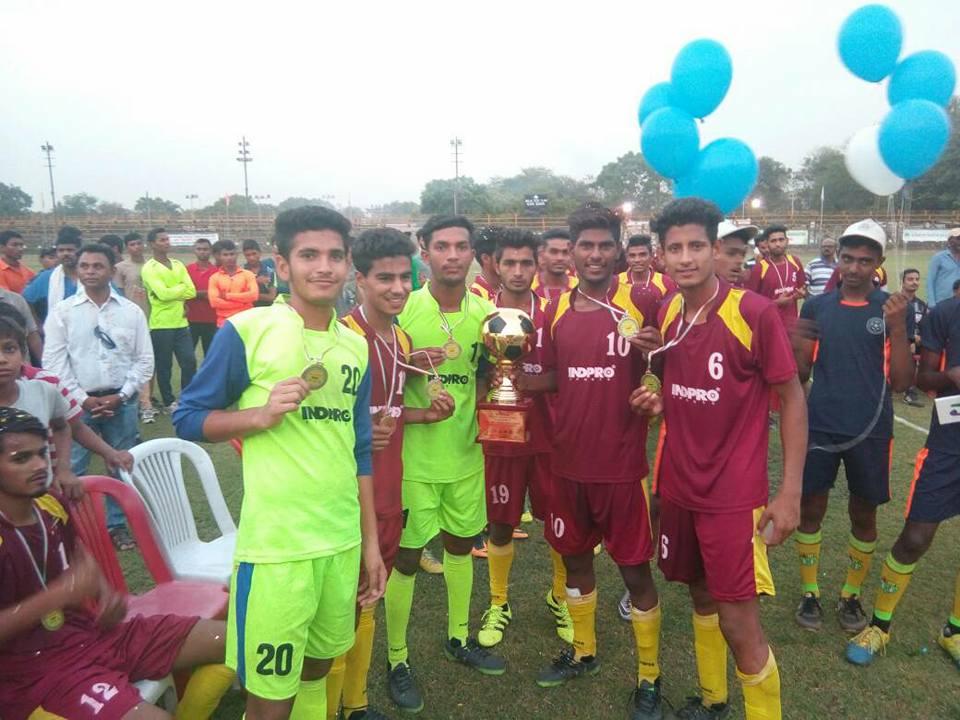 Punjab football junior boys