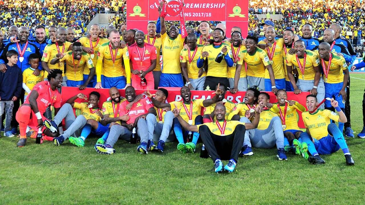 Mamelodi Sundowns team