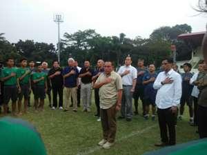 Ketum PSSI Edy Rahmayadi - Pelepasan Timnas Indonesia U-16