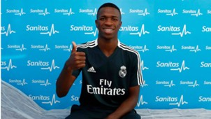 Vinicius Junior exames Real Madrid 16072018