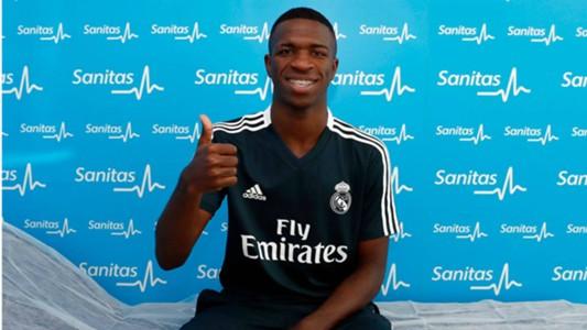 Vinicius Junior exames Real Madrid 16072018