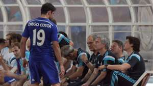 Diego Costa Jose Mourinho Chelsea Premier League