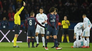 MARCO VERRATTI PSG REAL MADRID CHAMPIONS LEAGUE