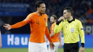 Virgil van Dijk Ovidiu Hategan Netherlands Germany 19112018