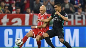 Arjen Robben Casemiro Bayern Munich Real Madrid Champions League