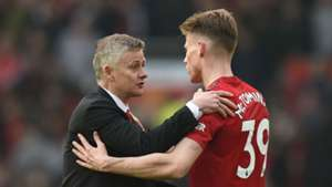 Ole Gunnar Solskjaer Scott McTominay Manchester United 2018-19