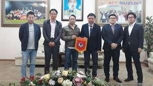 VFF làm việc cùng CLB Fujieda MYFC