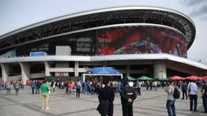 Seguridad estadios Rusia