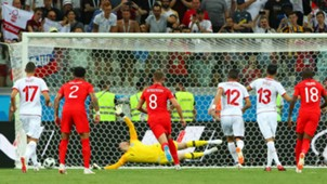 Tunisia penalty vs England World Cup 2018