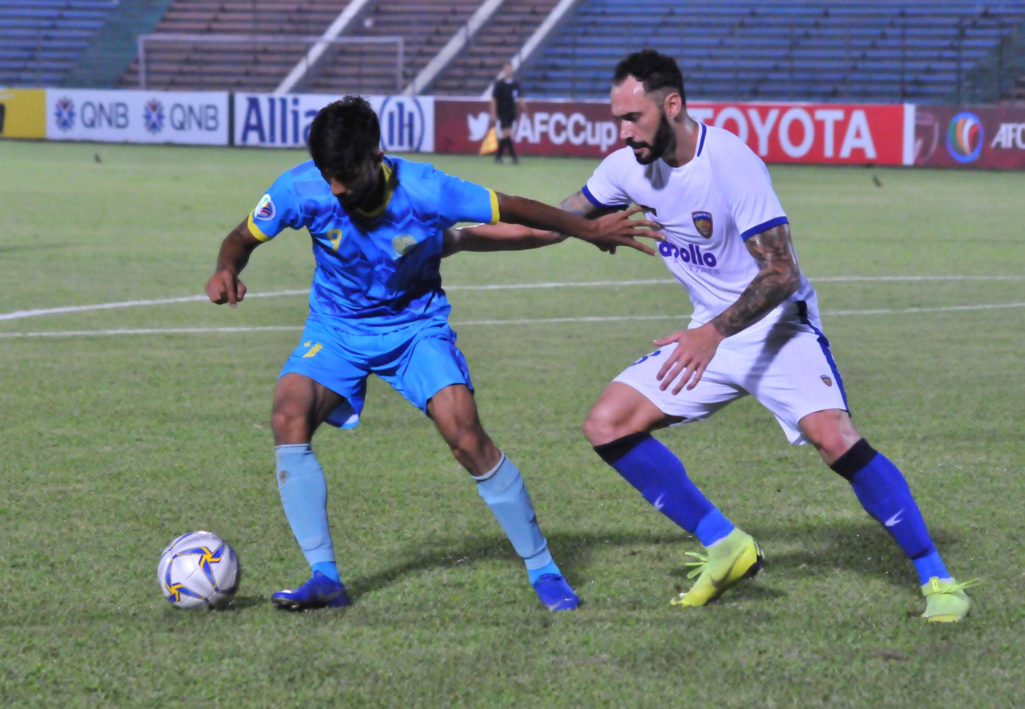 Eli Sabia Mohammad Nabib Dhaka Abahani Chennaiyin FC AFC Cup 2019