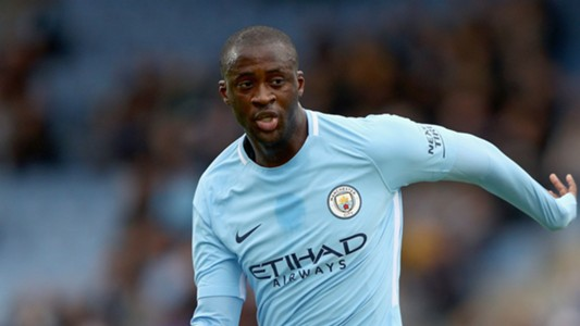 Yaya Toure Manchester City