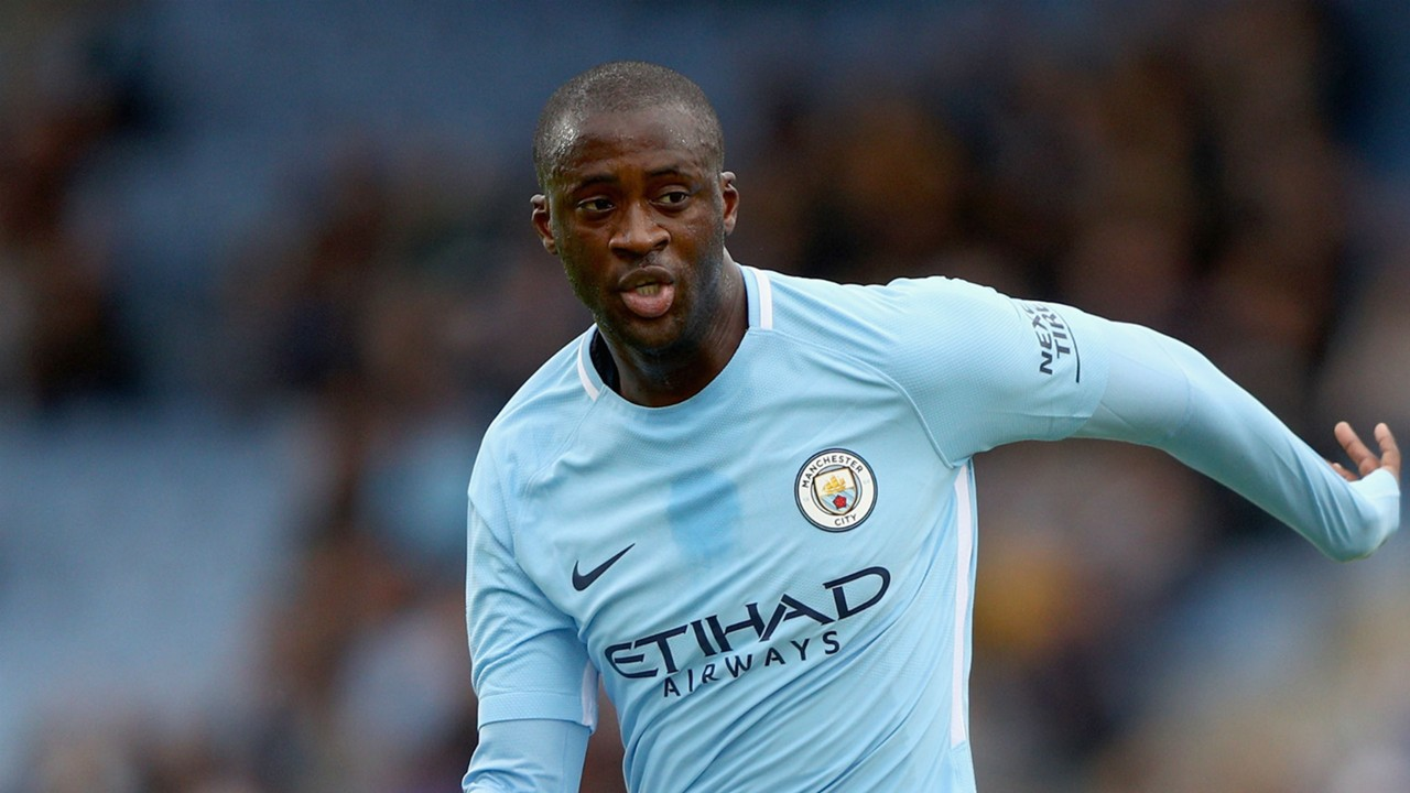 Yaya Toure back in Manchester City team for 300th appearance