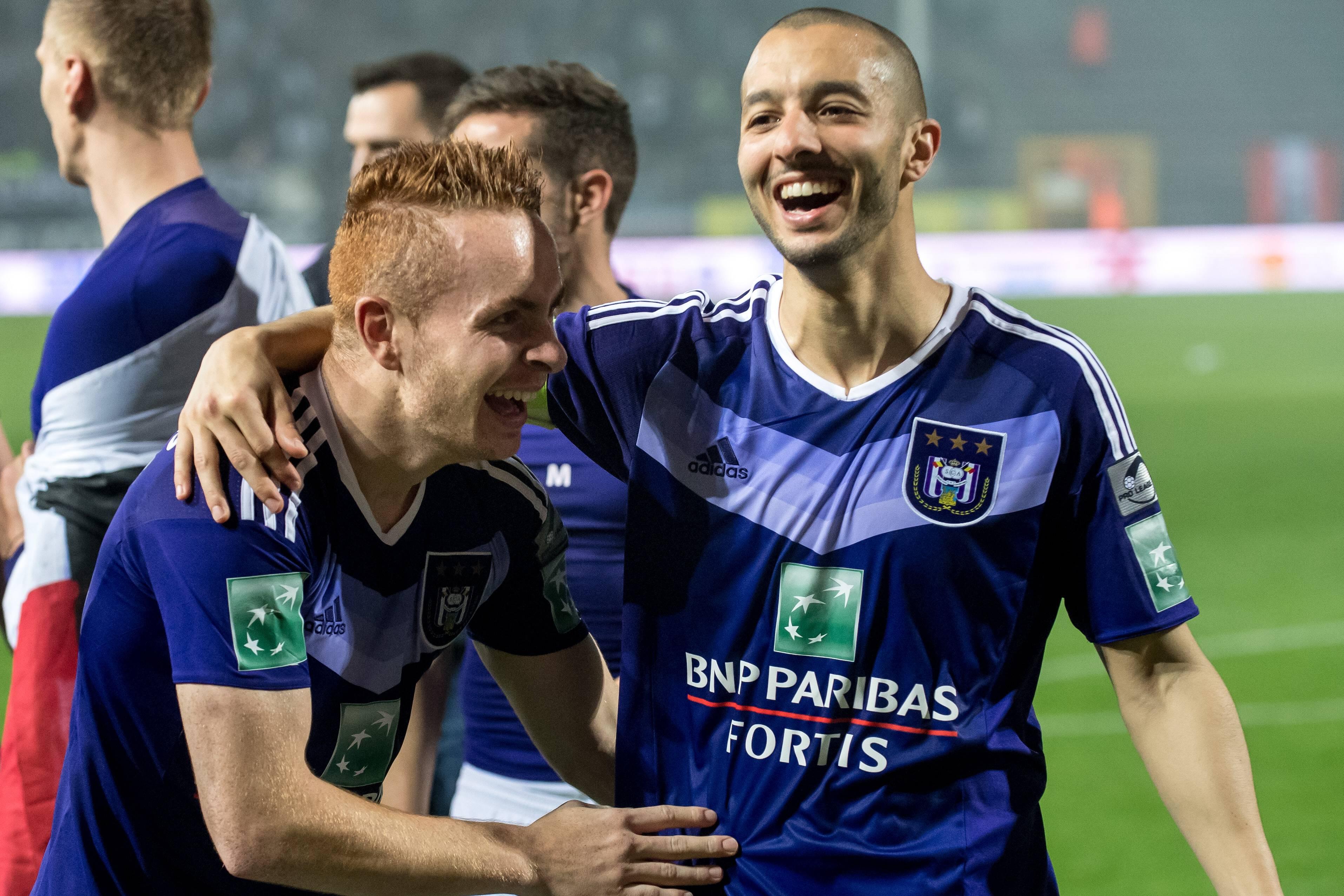Adrien Trebel Sofiane Hanni RSC Anderlecht