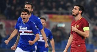 Alessandro Florenzi Roma Sampdoria Serie A