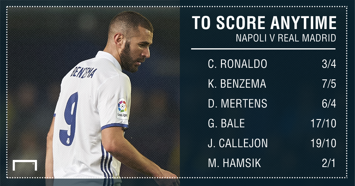 GFX STATS NAPOLI V REAL MADRID