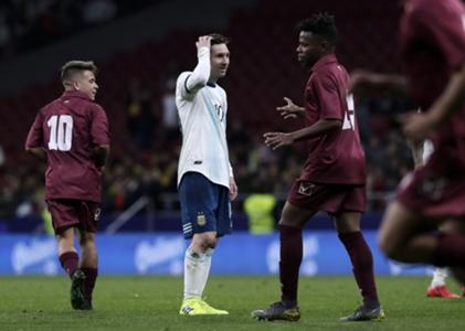 Argentinien: Blamage bei Comeback von Lionel Messi