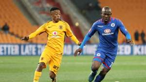 Hendrick Ekstein and Aubrey Modiba - Kaizer Chiefs v SuperSport United