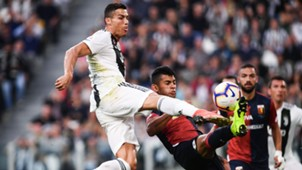 Cristiano Ronaldo Juventus FC Genua