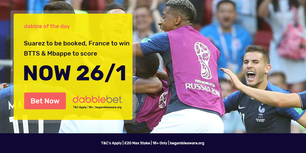France Uruguay dabble of the day