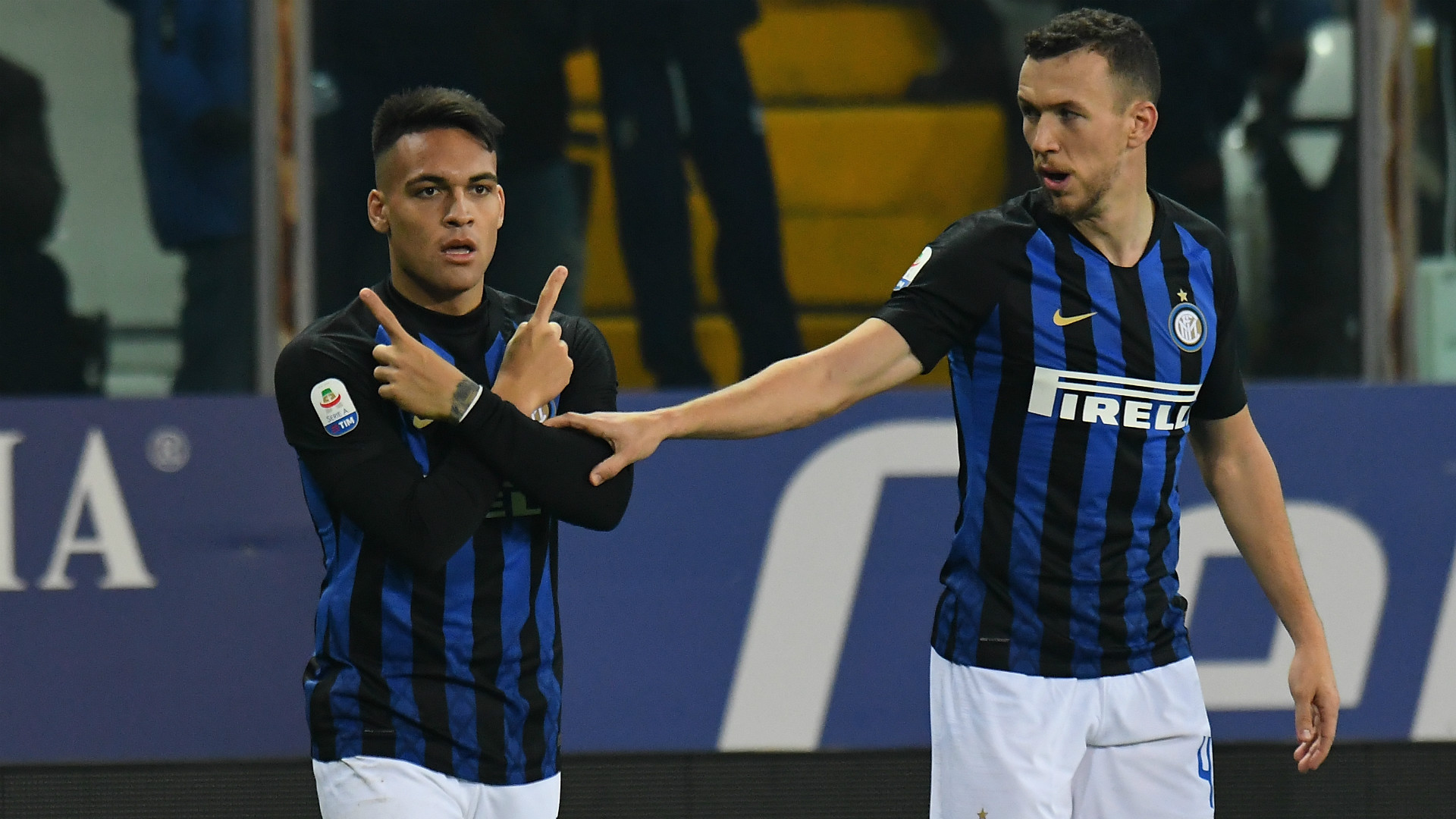 Parma Inter Lautaro Martinez Perisic