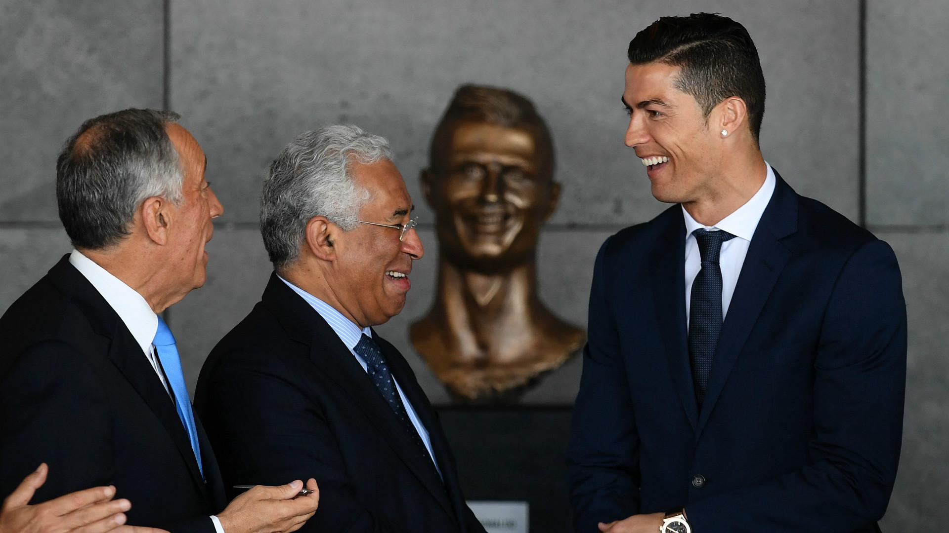 Cristiano Ronaldo bekommt neue Büste