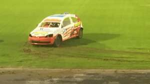 Ballymena pitch destroyed