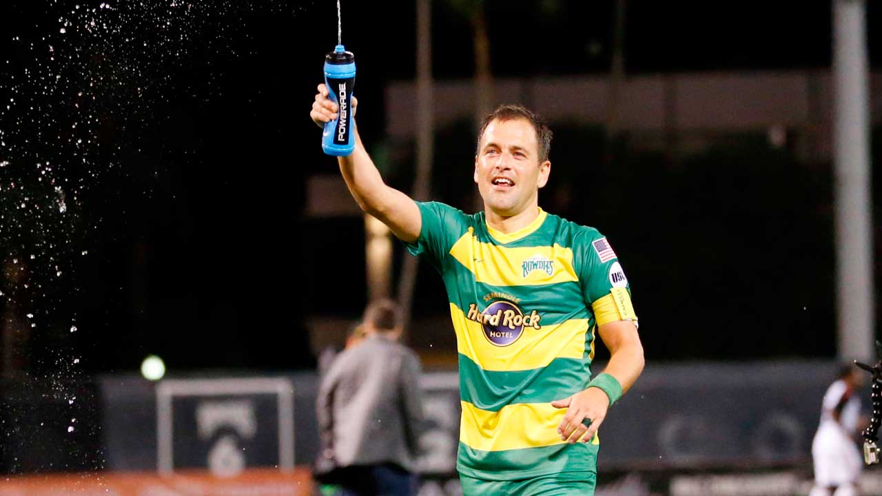 Joe Cole Tampa Bay Rowdies