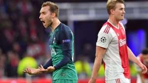 Christian Eriksen Tottenham Ajax 08052019