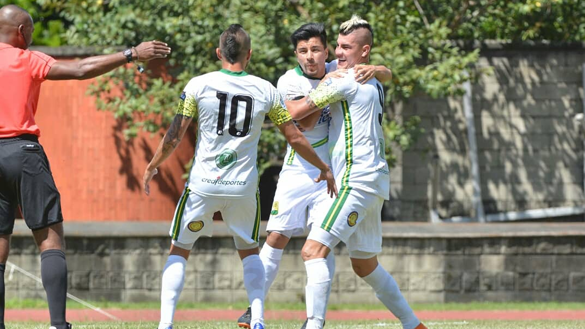 Bucaramanga Leones Liga Aguila 2018 Sherman Cardenas Michael Rangel