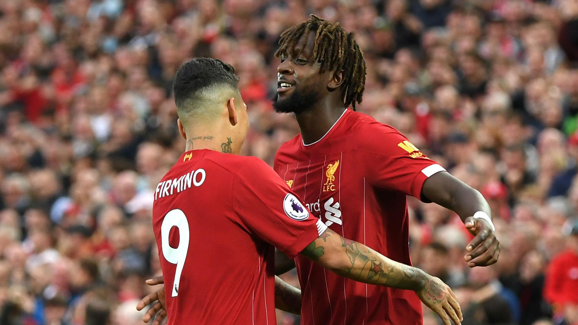 Origi Firmino Liverpool 2019-20