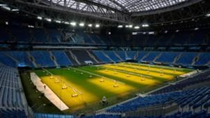 Sankt Petersburg Stadion Russland 30012018
