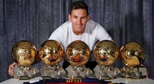 Lionel Messi Barcelona Ballon D'or