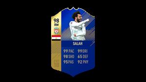 FIFA 18 Ultimate Team of the Season Salah