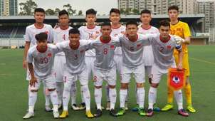 U18 Vietnam - U18 Hong Kong Cup 2019