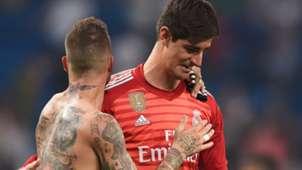 Sergio Ramos Courtois Real Madrid Leganes 02 09 2018