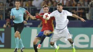 Saul ÑIguez Spain Italy European U21.