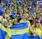 3만 스웨덴 팬의 노란 물결, 대표팀 흔들까?