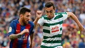Lionel Messi Gonzalo Escalante Barcelona Eibar LaLiga 21052017