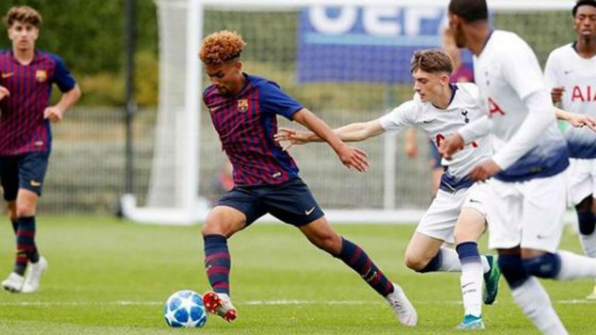 Konrad de la Fuente FC Barcelona