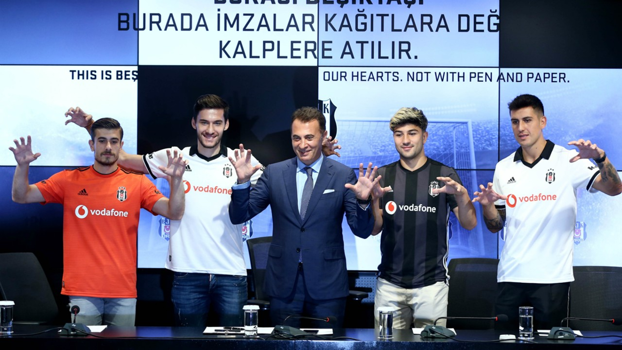 Dorukhan Tokoz Umut Nayir Fikret Orman Guven Yalcin Enzo Roco Besiktas transfers 2018-19
