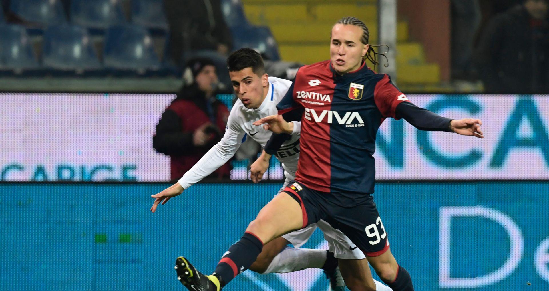 Diego Laxalt Joao Cancelo Genoa Inter Serie A